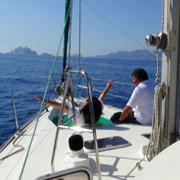 croisière voile méditerranée - balade en mer - journée