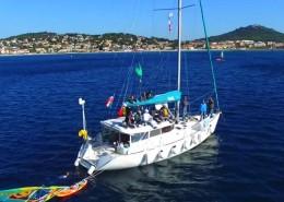 Location Voilier Atoll 43 Dufour Yachts var medietrranee croisiere avec ou sans skipper