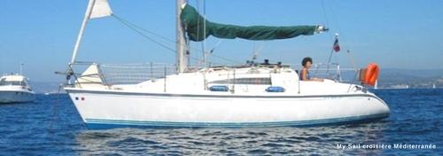 location petit voilier habitable sun way 29 dans le var croisiere balade en mer