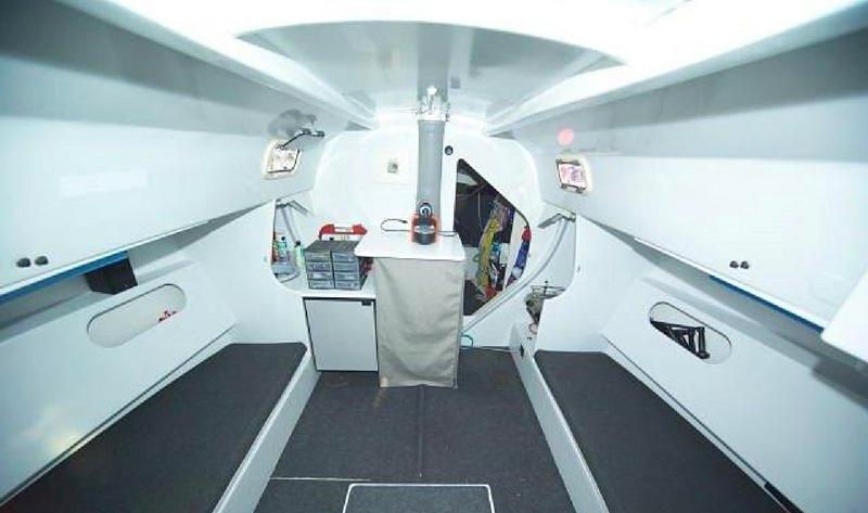 intérieur voilier ILC 40 - JTA