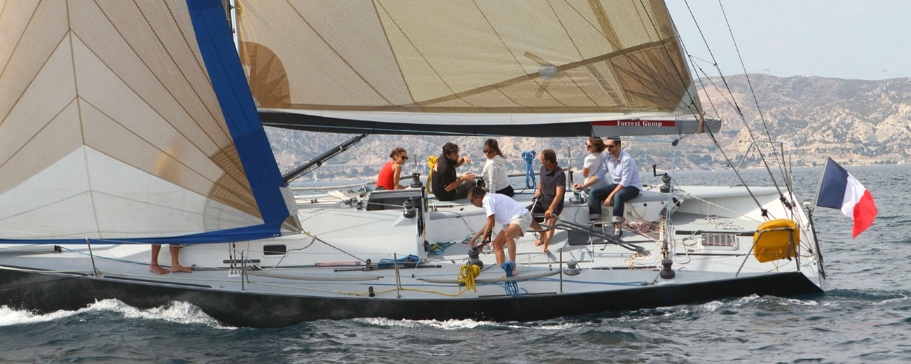 location voilier IRC40 programme regate my sail location mediterranee avec ou sans skipper professionnel marseille var challenge defi